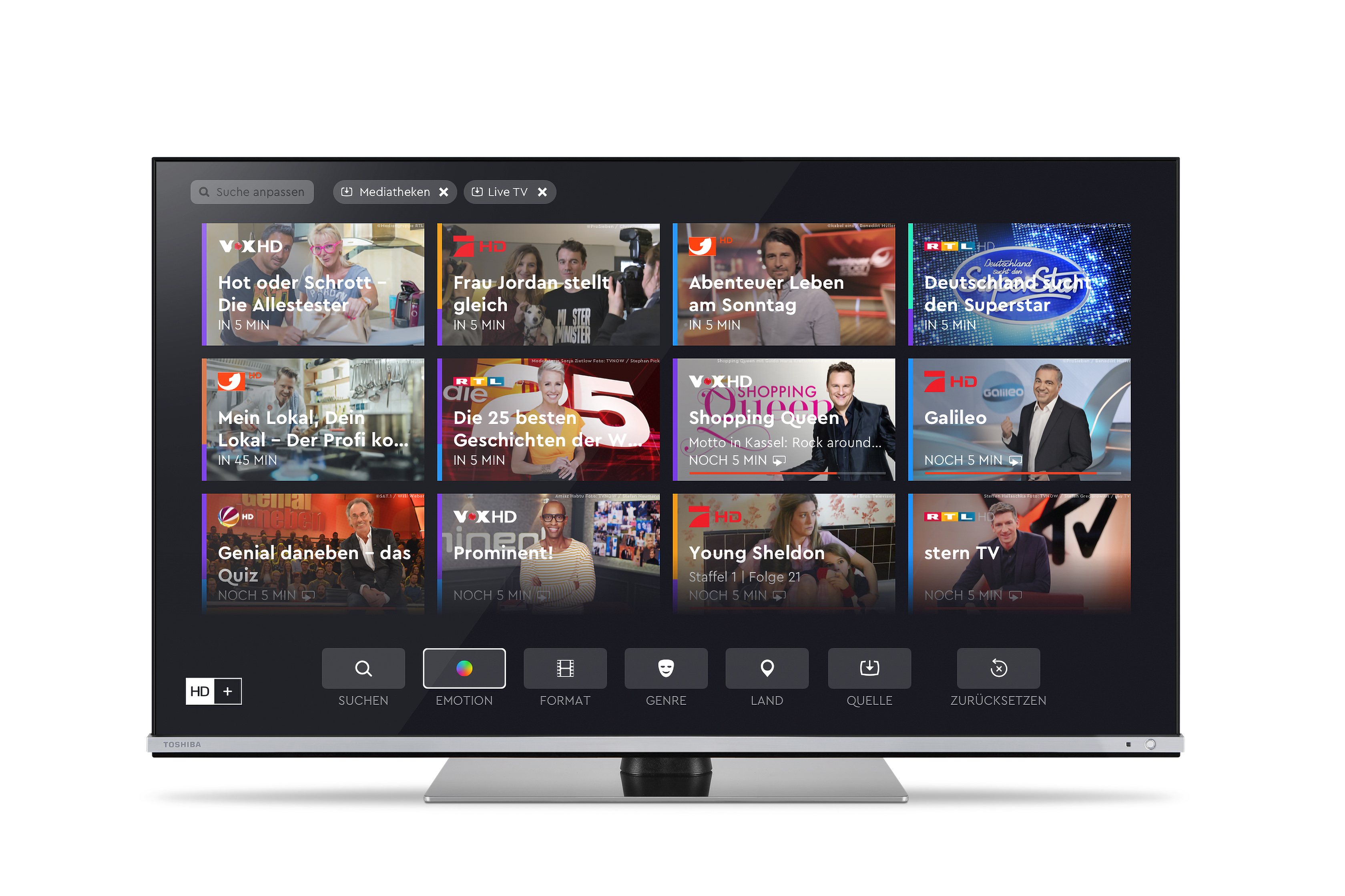 Vestel Offers Integrated Access to HD+ on UHD TVs for Germany
