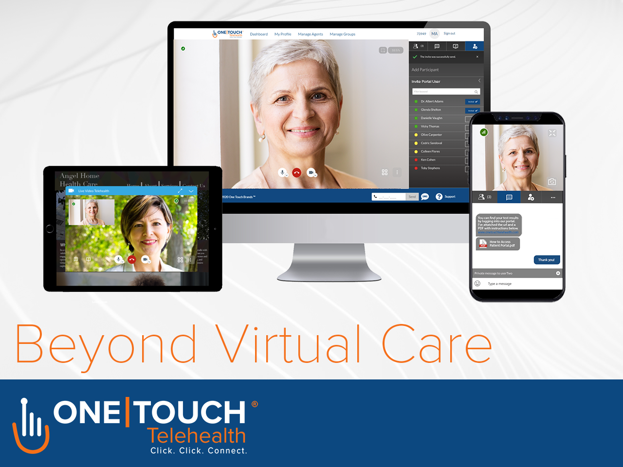 """One Touch Telehealth Launches New Release 5.0 """"Beyond Virtual Care"""""""