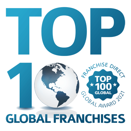 Logo for Franchise Direct's Annual Top 100 Ranking
